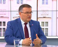 """""""Marian Banaś to uczciwy człowiek"""". Andrzej Dera broni kolegi"""