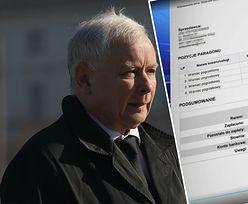 Faktura Jarosława Kaczyńskiego wg TVP, czyli co nie zgadza się w zakupach prezesa PiS