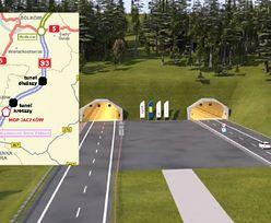 Najdłuższy taki tunel w Polsce. Zobacz, jak będzie wyglądał