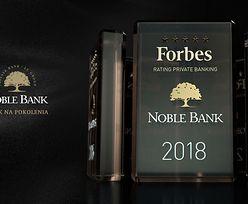 Getin Noble Bank ponownie na szczycie elitarnego grona 5* banków według miesięcznika Forbes