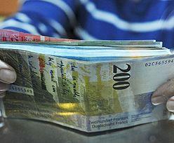 Kurs franka przebił cztery złote. Raty znowu pójdą w górę
