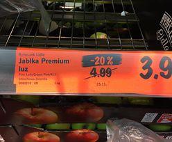 Analiza promocji: Banan przegrywa z jabłkiem. Wzrosty na poziomie nawet 200 proc.