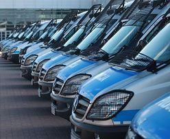 Policja kupi 300 nowych furgonetek. Będą kosztować 54 mln zł