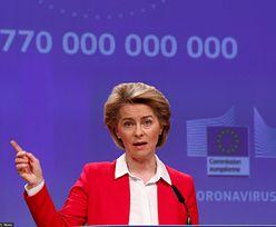 Unia daje 100 mld euro na walkę z koronawirusem