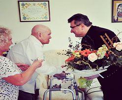 Najstarszy polski górnik świętuje 104. urodziny. Z życzeniami przyjechał wiceminister energii