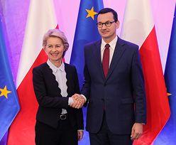 Morawiecki i von der Leyen w Warszawie. Premier ma pomysł na problem z brexitem