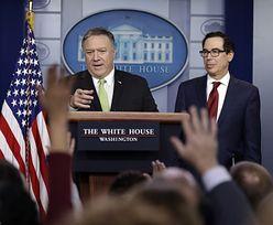 Sankcje na Iran. USA wzmacniają nacisk