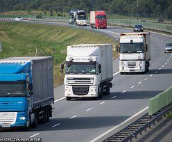 Nowy odcinek autostrady A1 nie dla ciężarówek. Na razie