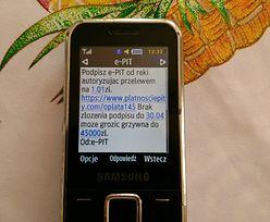 Próba wyłudzenia na e-PIT. Do ludzi przychodzą smsy od oszustów