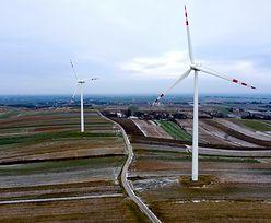 Orkan Sabina napędza wiatraki w Polsce