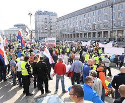 Strajk taksówkarzy. Protest wybuchł ponownie pomimo porozumienia z rządem