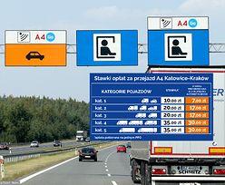 Zmiana cennika na A4 Katowice - Kraków. Będzie taniej