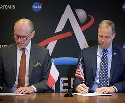 NASA i POLSA podpisały porozumienie. Dotyczy wspólnej eksploracji kosmosu