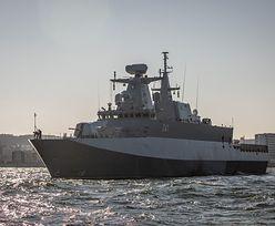 ORP Ślązak powstawał 18 lat. Wreszcie trafił do służby