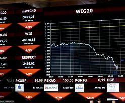 Inwestorzy na GPW liczą straty. Kto zainwestował miesiąc temu w WIG20 może tylko żałować
