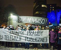TVP uważa, że 47 dziennikarzy naruszyło jej dobre imię. Żąda przeprosin i wpłaty na WOŚP