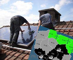 Źródła odnawialne. Część Polski już porzuciła węgiel. Prawie cała energia z OZE na Warmii i Mazurach