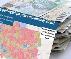 Płaca minimalna 2020. Mapa podwyżek. Większość Polski nie może się doczekać nowego roku
