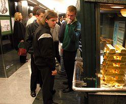 Złoto rekordowo drogie. Monety z NBP rozchodzą się jak świeże bułeczki