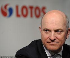 Były prezes Lotosu Paweł Olechnowicz po zatrzymaniu przez CBA: Chcę jeszcze pożyć