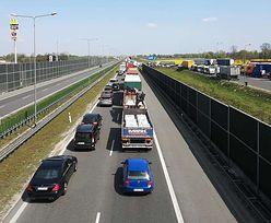 Autostrada A2 zablokowana. Taksówkarze protestują przeciw nowym przepisom