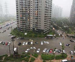 Powódź w Chinach. Policja przeciw internautom