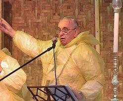 Filipiny: Papież skraca wizytę przez burzę tropikalną