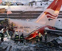Wypadek rosyjskiego TU 204. Nowe informacje o rannych