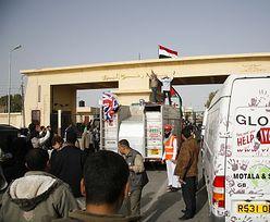 Przejście graniczne w Rafah na dwa dni zostało otwarte