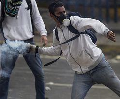 Protesty w Wenezueli. Śmiertelne ofiary przemocy - 31 cywilów i 8 policjantów