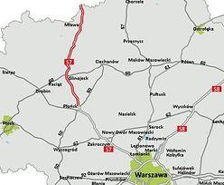 S7 Napierki-Płońsk. GDDKiA ogłosiła przetarg na zaprojektowanie i budowę drogi