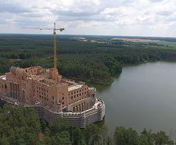 Zamek z Puszczy Noteckiej odsłania swoje tajemnice. Mamy nagranie z miejsca budowy