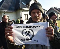 Protest w kopalni Makoszowy. Spółka zapewnia, że nikt nie straci pracy