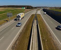 """180 km """"suchej"""" autostrady. Na drogach ekspresowych jest jeszcze gorzej"""