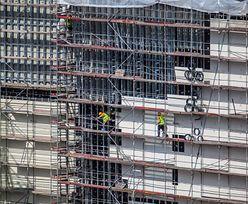 Budowa Galerii Północnej w Warszawie. PIP: pracowali tam nielegalnie zatrudnieni cudzoziemcy