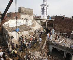 Sytuacja w Pakistanie. 24 zabitych wskutek zawalenia się meczetu