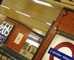 Strajk trzech kolejarzy w Londynie
