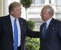 """Trump przyjął podejrzewanego o korupcję premiera Malezji. """"To akt narodowego upokorzenia i wstydu"""""""