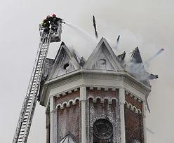 Pożar kościoła w Białymstoku. Runął dach