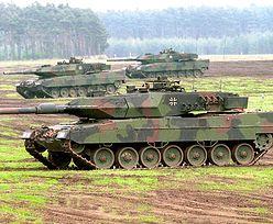 Konflikt na Ukrainie. Niemcy zapowiadają wzmocnienie wojsk pancernych