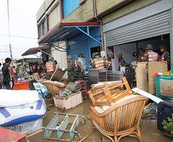 Japonia: Najsilniejszy od lat tajfun uderzył w Okinawę