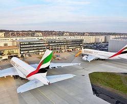 Emirates powiększają flotę. Kupują najdroższe samoloty