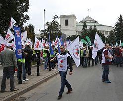 Protesty górników. Prezydent podpisał ustawę