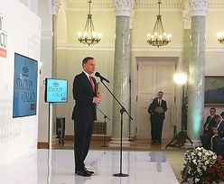 Nagrody w Kancelarii Prezydenta. W pół roku ponad milion złotych