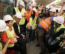 Druga linia metra w Warszawie. Hanna Gronkiewicz-Waltz mówi, kiedy koniec budowy