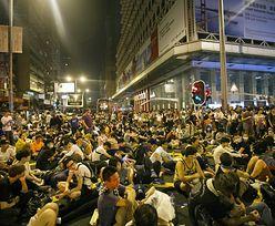 Demonstrancje w Hongkongu. Protestujący dają władzy czas do jutra
