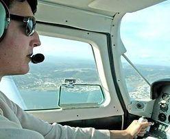 Pilot: zdarzyło mi się zasnąć w czasie lotu