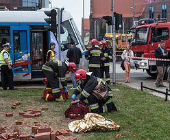 Zderzenie tramwajów. Klkanaście osób niegroźnie rannych