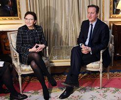 David Cameron w Polsce. Rozmowy będą trudne