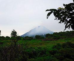 Erupcja wulkanu w Indonezji wywołała panikę